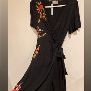 ASOS maternity wrap dress